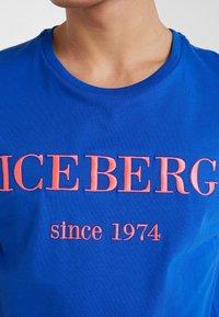 Iceberg - T-shirt imprimé - blue - 5