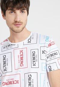 Iceberg - T-shirt imprimé - white - 3