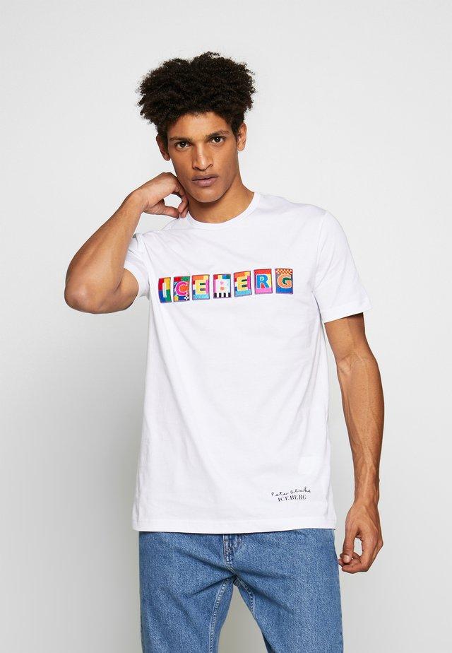 PETER BLAKE LOGO  - T-shirts print - bianco ottico