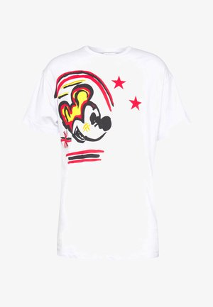 MICKEY MOUSE - Print T-shirt - bianco ottico