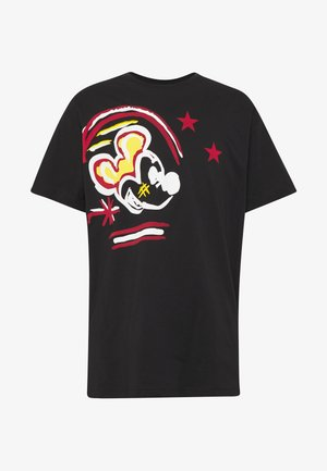 MICKEY MOUSE - T-shirt con stampa - nero
