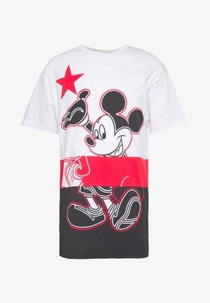 MICKEY MOUSE - T-Shirt print - bianco ottico