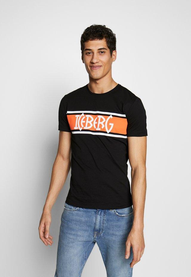 STRIPE LOGO - T-shirts print - nero