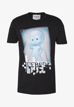 CASPER - Print T-shirt - nero
