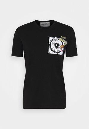 FUTURE - T-shirt con stampa - nero