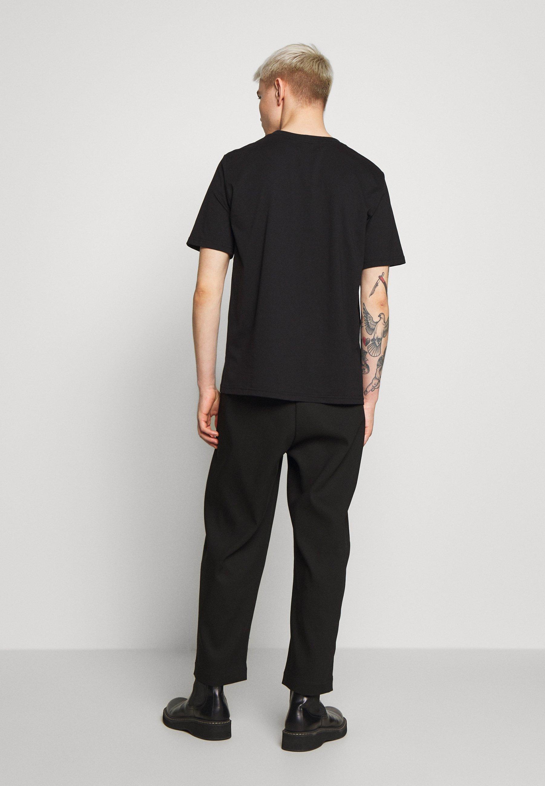 Iceberg EMBROIDERED - T-shirt z nadrukiem - black