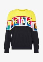 PETER BLAKE LOGO KNIT - Strickpullover - multicolor