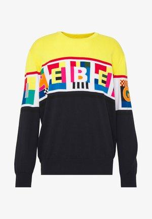 PETER BLAKE LOGO KNIT - Stickad tröja - multicolor
