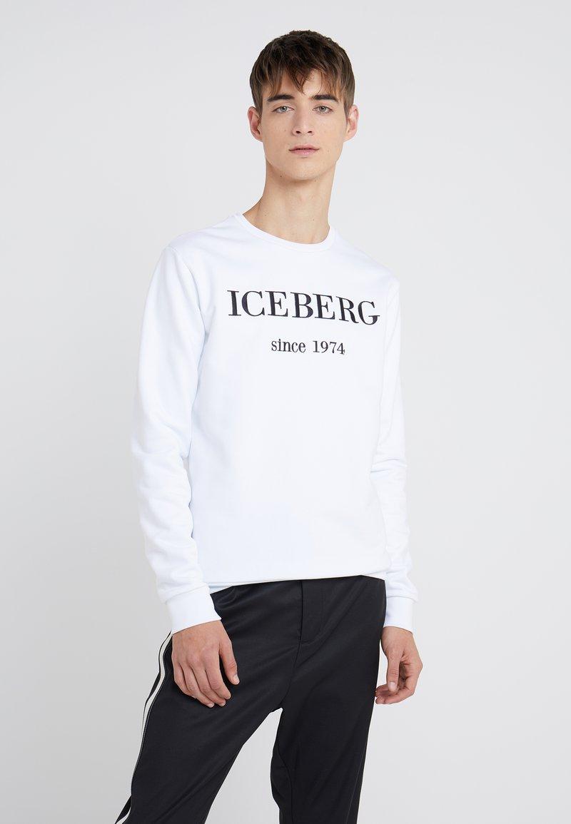 Iceberg - Sweatshirt - bianco ottico