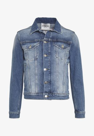 PETER BLAKE GIUBBOTTO - Denim jacket - indaco
