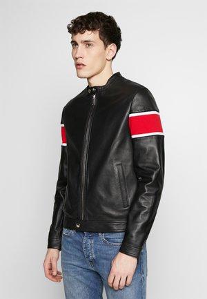 GIUBBOTTO - Leather jacket - nero