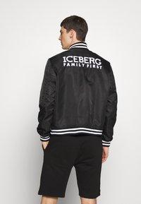 Iceberg - EMBROIDERED - Bomberjacks - black - 3