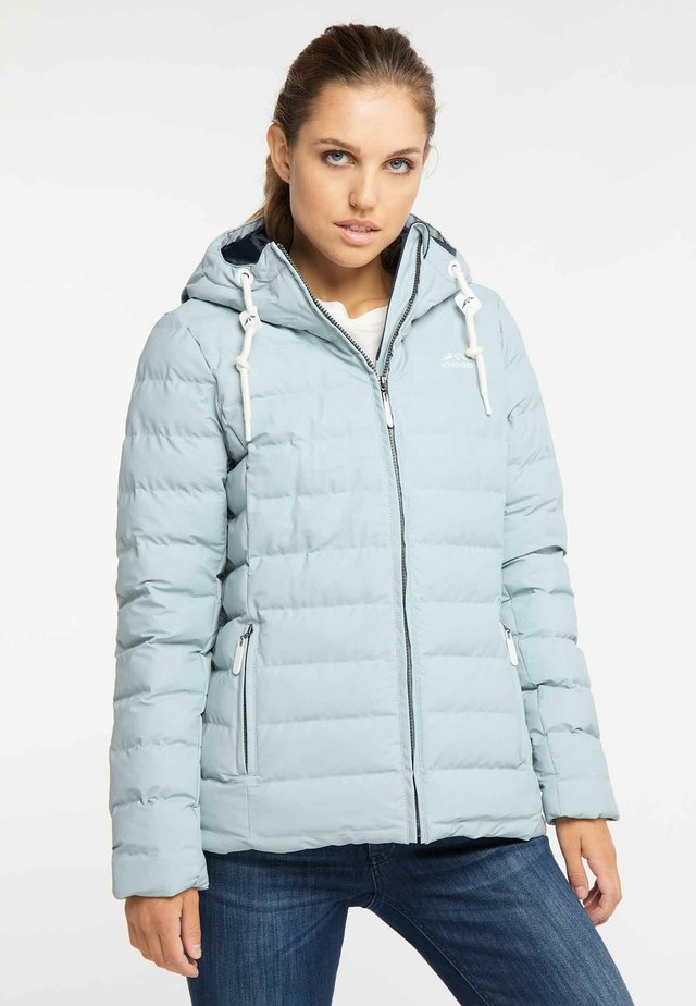 Winterjacke - light blue