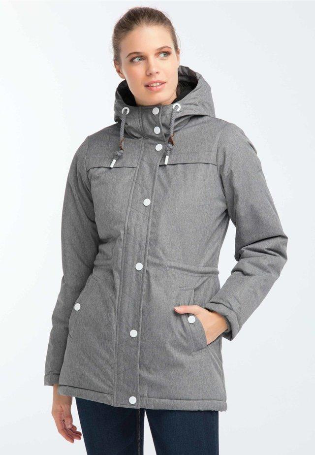 Vinterkappa /-rock - mottled grey