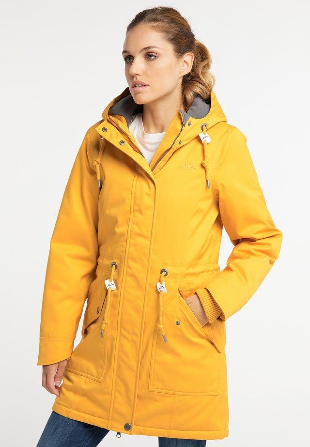 Winterjas - mustard yellow