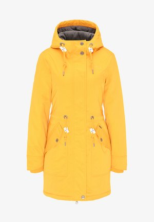 Winter coat - mustard yellow