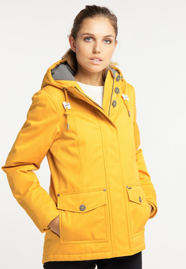 Winter jacket - mustard yellow