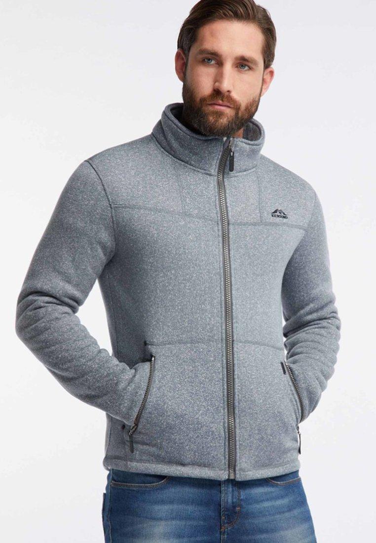 Icebound - Fleece jacket - grey melange