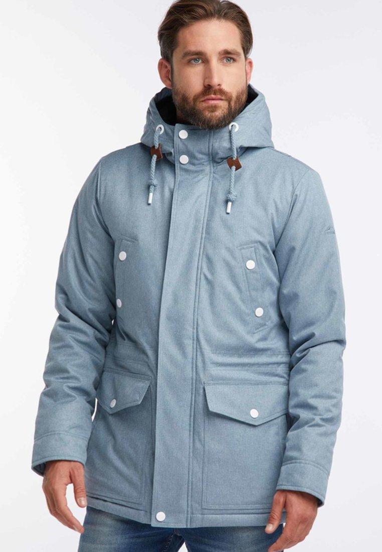 Icebound - Winter jacket - blue melange