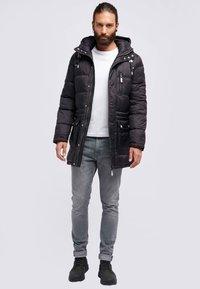 ICEBOUND - Winter coat - black - 1
