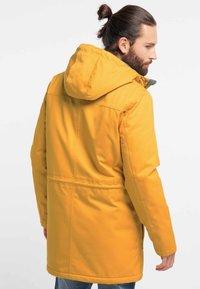 ICEBOUND - Winter coat - mustard - 2