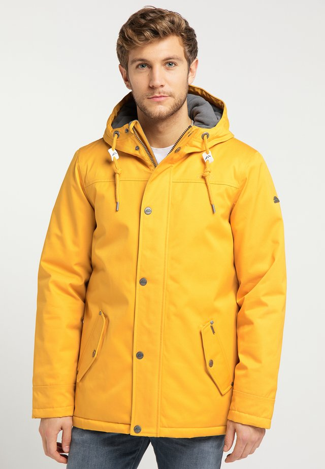 Winter jacket - mustard