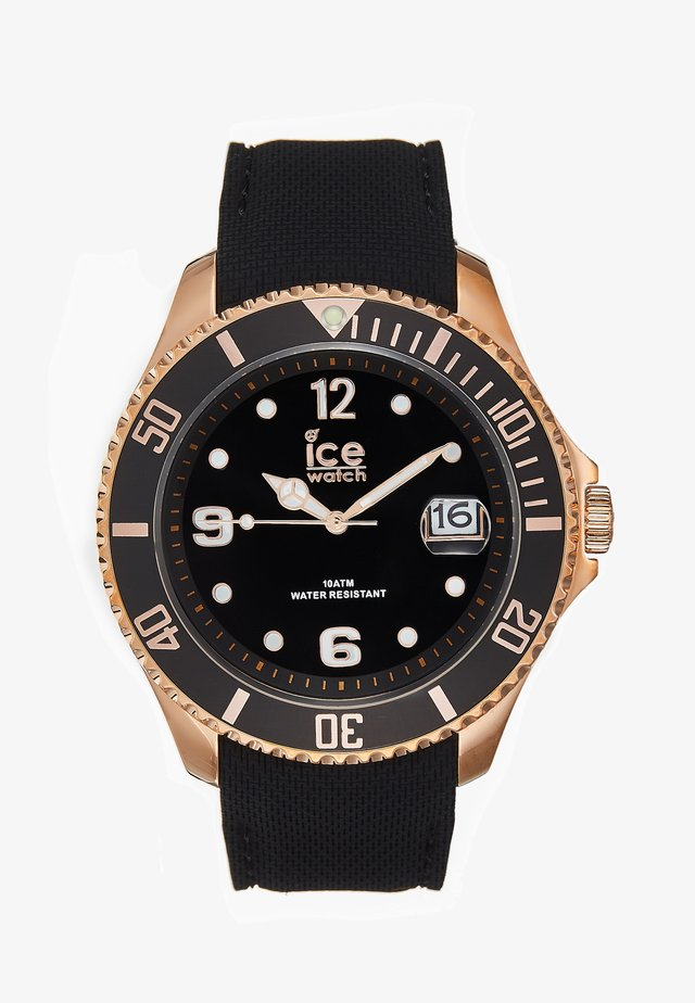 Watch - black/rosègold-coloured