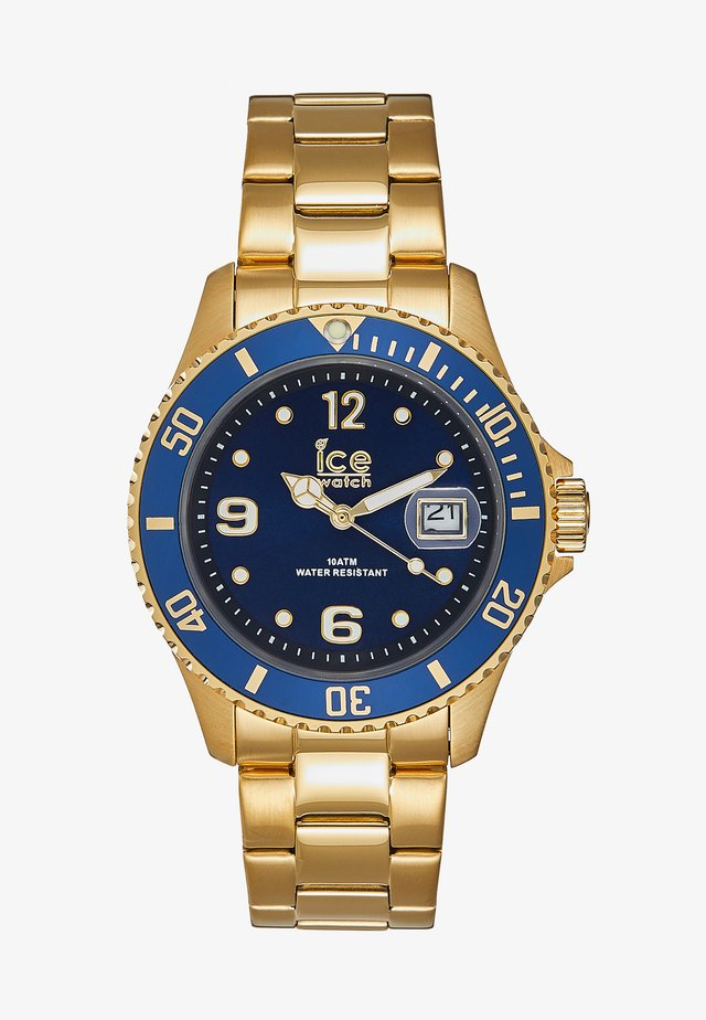 Horloge - gold-coloured/blue