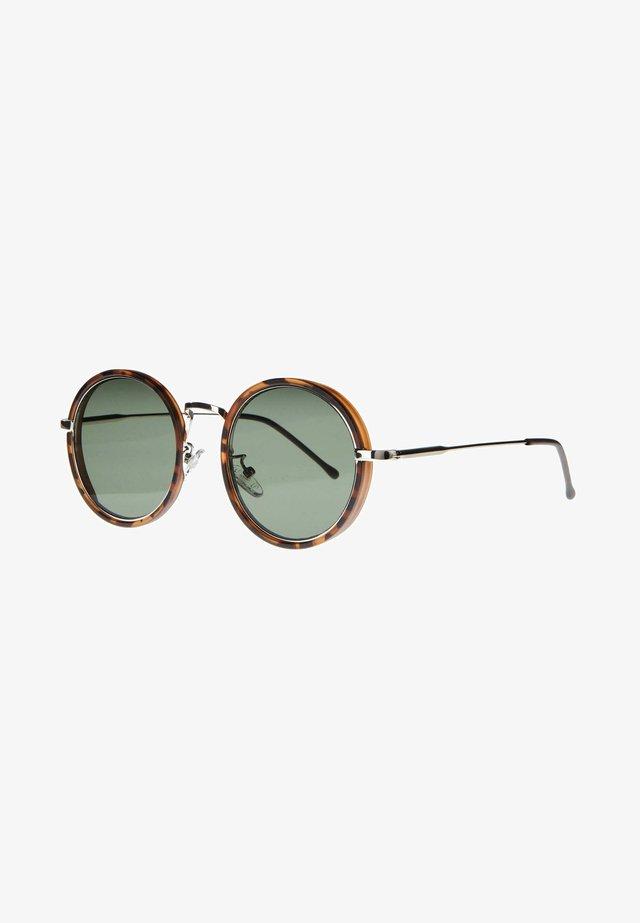 PONZ - Okulary przeciwsłoneczne - matt brown/tortoise