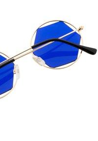 Icon Eyewear - JOLIE - Aurinkolasit - pale gold/blue - 2
