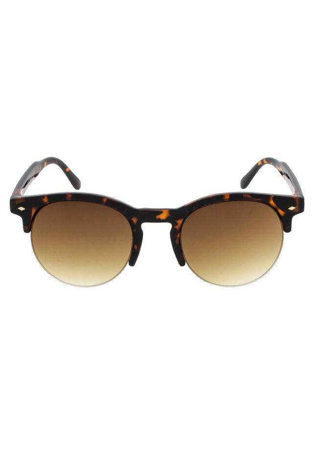 MARTINE - Okulary przeciwsłoneczne - tortoise & matt tortoise