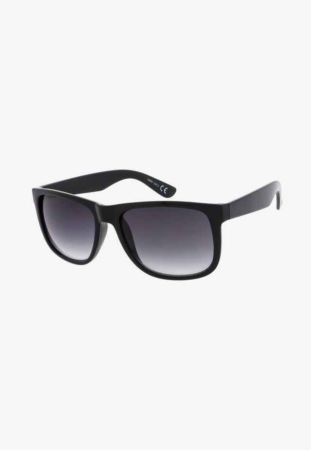 ALPHA - Sunglasses - black / light grey
