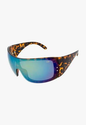SASHA - Sports glasses - mottled brown