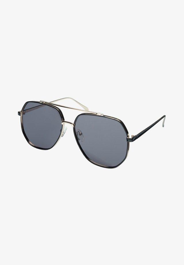 HEADS - Okulary przeciwsłoneczne - gold/black