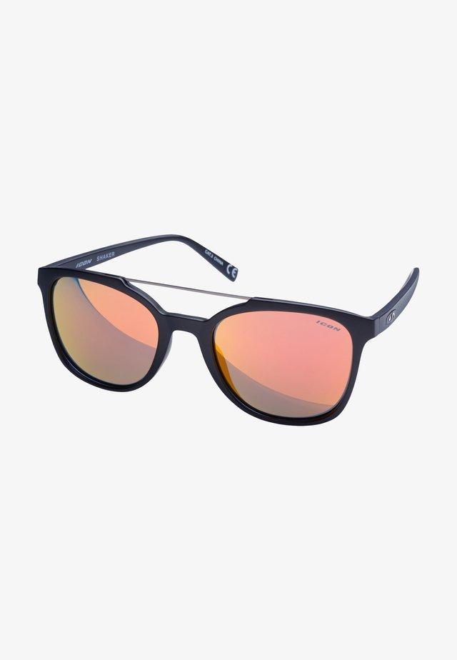 SHAKER - Sportglasögon - matt black