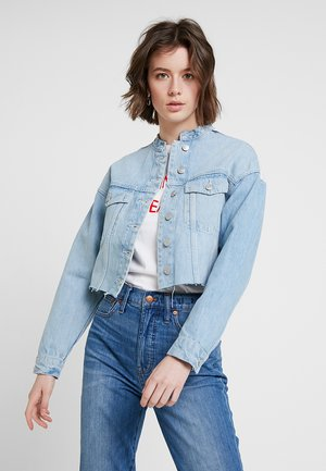 CROPPED - Giacca di jeans - pale indigo/washed grey
