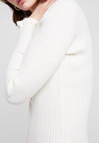 Iden - HENLEY - Jumper - ivory white - 5