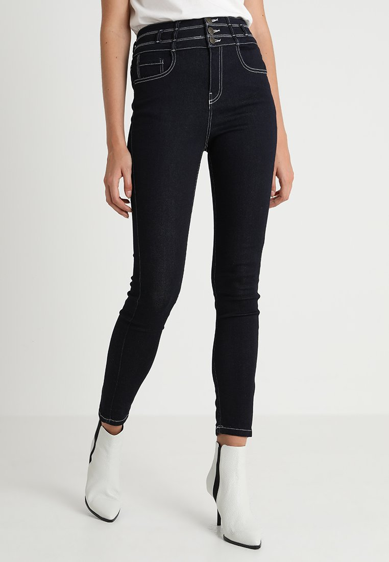 Iden - JOSEPHINE SUPER HIGH RISE - Jeans Skinny Fit - rise