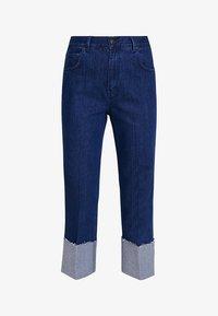 Iden - SYLVIA RELAXED MAXI TURN UP - Straight leg jeans - rinse - 4