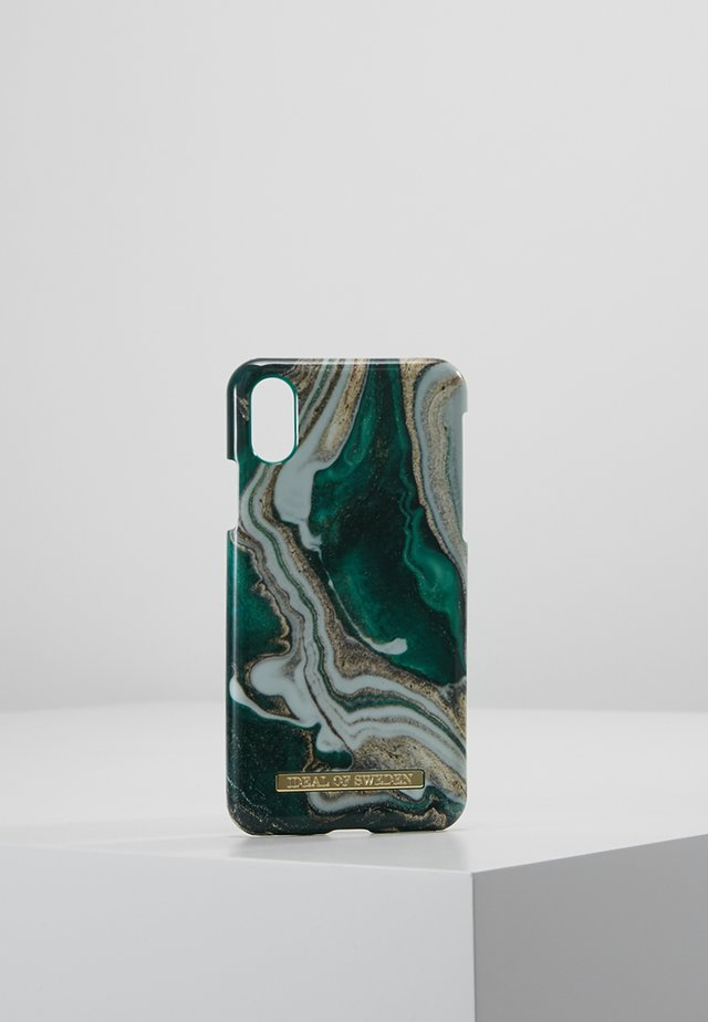 FASHION CASE IPHONE X/XS MARBLE - Phone case - goldjade
