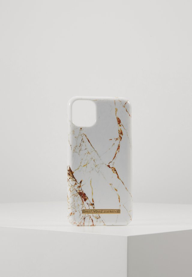 FASHION CASE IPHONE 11 - Phone case - carrara/gold-coloured