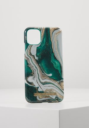 FASHION CASE IPHONE 11 - Phone case - gold-coloured/jade