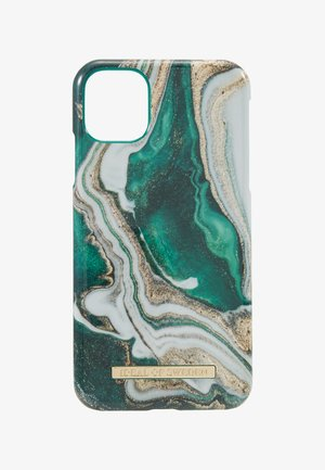 FASHION CASE IPHONE 11 - Mobiltasker - gold-coloured/jade