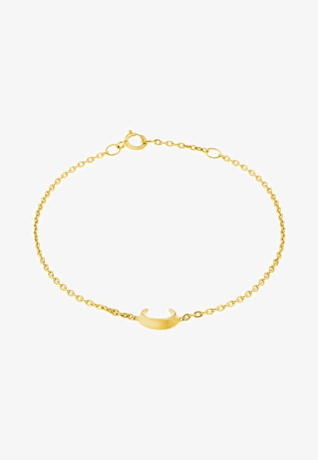 CRESCENT MOON - Bransoletka - gold-coloured