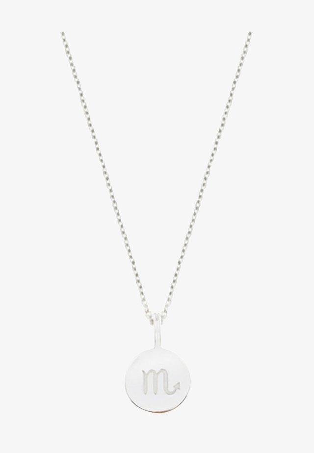 SCORPIO  - Necklace - silver-coloured