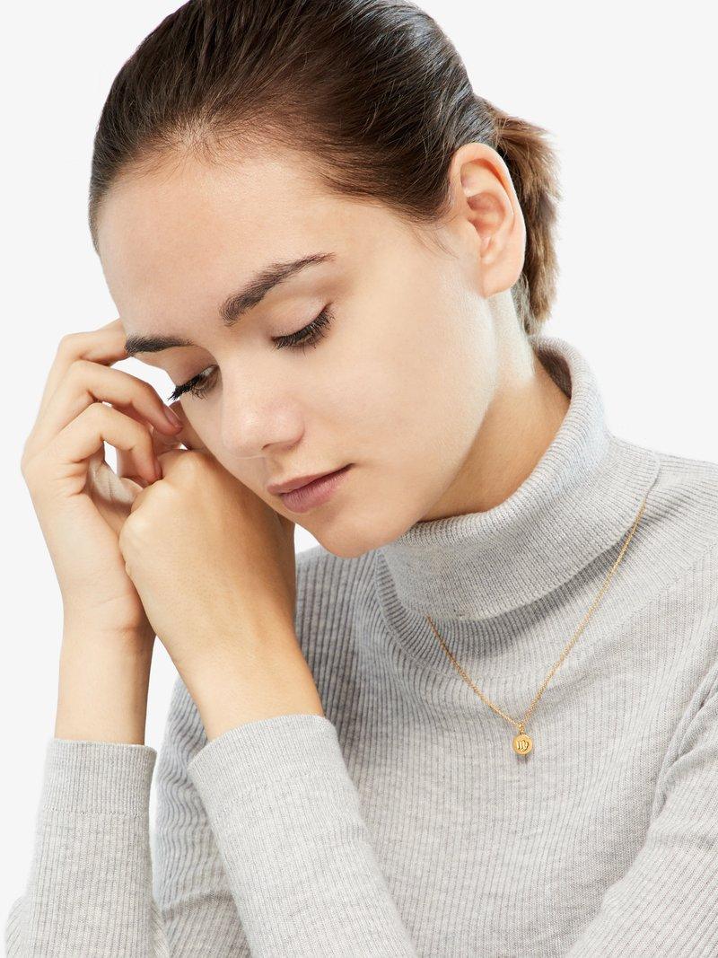 ID Fine - VIRGO - Necklace - gold-coloured