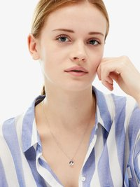 ID Fine - GEMINI  - Necklace - silver - 0