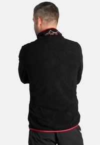 Idepul - ANTON - Fleece jumper - black red - 1