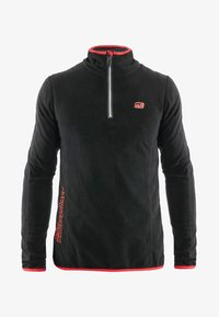 Idepul - ANTON - Fleece jumper - black red - 3