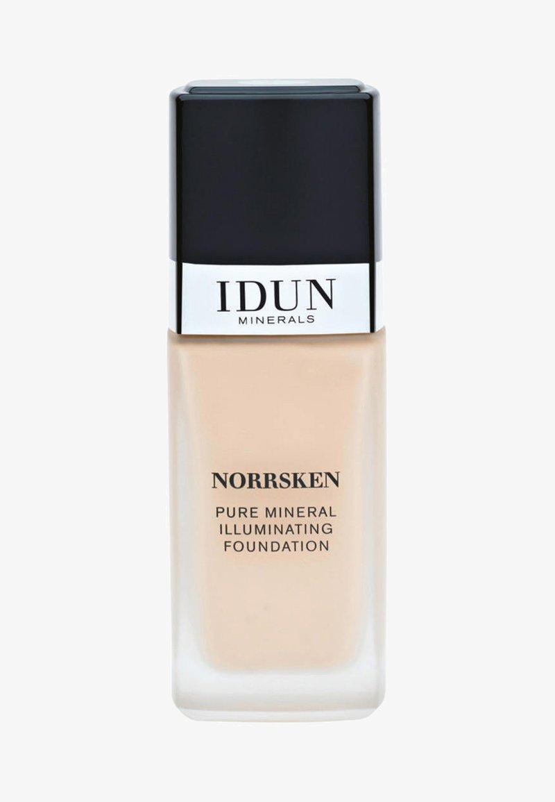 IDUN Minerals - LIQUID FOUNDATION - Fond de teint - freja - warm light